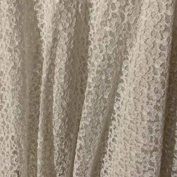 SJP by Sarah Jessica Parker Dresses & Skirts - XL white lace skirt